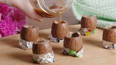 Cadbury Creme Egg Shots  - Delish.com