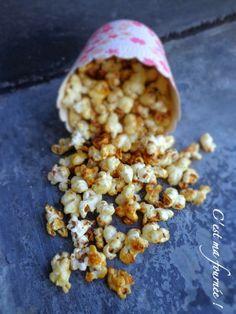 C'est ma fournée !: Idée déco pour vos desserts : le pop corn caramélisé de Michalak !