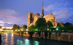 Notre Dame Cathedral, Paris#Repin By:Pinterest++ for iPad#