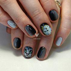 #nail #nail_art #autumn_nail #ногти #дизайн #дизайн_ногтей #маникюр #осень…