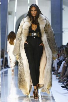 Totally awesome coyote fur coat