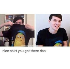 The nice thing about living together is being able to share clothes | Dan and Phil