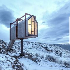 Modern design with midwestern ease. Contemporary architecture and modern interior design for your Michigan residential and commercial projects. Tiny House Cabin, Tiny House Design, Contemporary Architecture, Interior Architecture, Casas Containers, Cabins In The Woods, Norway, Villa, Places