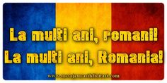 1 Decembrie La multi ani, romani! La multi ani, Romania! 1 Decembrie, Romania, Education, Celebration, Amazing, Blue, Onderwijs, Learning