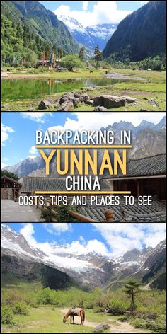Backpacking in Yunnan, China -- lots of tips including how much it'll cost and heaps of awesome things to see and do in Yunnan, China.