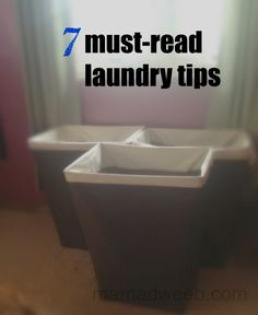 7 must read laundry tips
