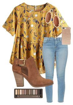 Floralmustard shirt.