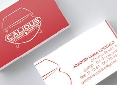 Diseño imagen corporativa (logo, tarjetas, dossieres, web...). Cliente: Calidus Catering Service #diseño #design #branding