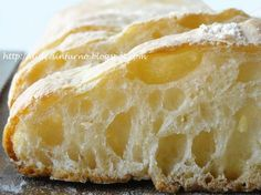 Dulcis in Furno Bread Baking, Baking And Pastry, My Favorite Food, Favorite Recipes, Focaccia Pizza, Bread Recipes, Cooking Recipes, No Knead Bread, Breakfast Dessert