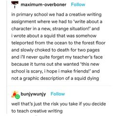 Stupid Funny Memes, Funny Relatable Memes, Haha Funny, Funny Quotes, Hilarious, Funny Fails, Writing Tips, Writing Prompts, Writing Assignments