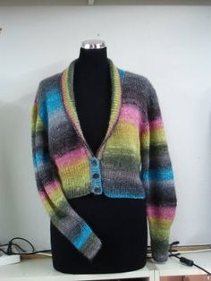 "Will's Wools: Noro "" Catwalk"" Cardigan / Vest ~ Inspiration...."