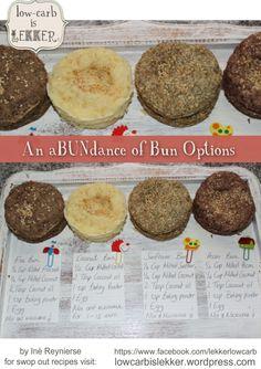 Abundance of bun Options