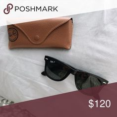 Polarized Raybans Perfect condition only worn twice Ray-Ban Accessories Sunglasses Sunglasses Accessories, Sunglasses Case, Ray Bans, Shop My, Best Deals, Womens Fashion, Closet, Things To Sell, Black
