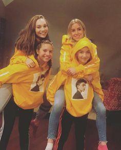 Kenz,Lilia,Maddie e Lauren