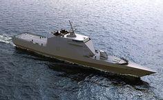 Project 20386 russo, que pode atender aos requisitos da Marinha Indiana para a corveta de nova geração