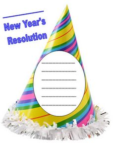 Free bulletin board and writing kit for the New Year.  Really great graphic organizer to explain 'resolution' to students.