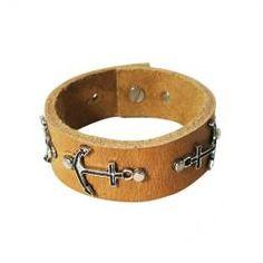 Men's Genuine leather Bracelet.