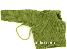DROPS Knitting Tutorial: How to set in sleeve in a jumper in stocking st.