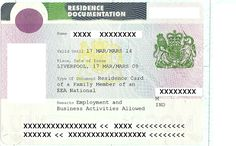 Permanent Residence Card - http://www.eeavisa.com/services.html  #ResidenceCard