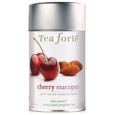 Tea Forte Skin Smart Loose Tea Canister-Cherry Marzipan, 3.17 oz, 50 servings > Stop everything and read more details here! : Fresh Groceries