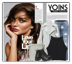 """YOINS"" by fashion-all-around ❤ liked on Polyvore featuring Kerr®, yoins and yoinscollection"