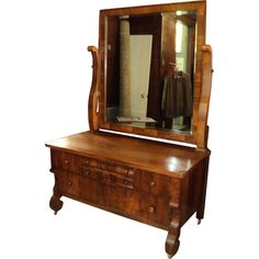 Innis And Pearce Company Walnut Lowboy Dresser With