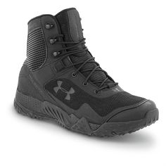 Men's Under Armour® Valsetz Tactical RTS Tactical Boots, Black. These are way more comfortable than my Danners.