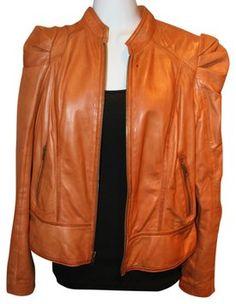 brand: Hinge....Leather Jacket