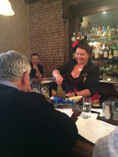 Abigail Gullo from New Orleans with Smoke on Blonde made from Manzanilla and Amontillado (note: see sharkie)