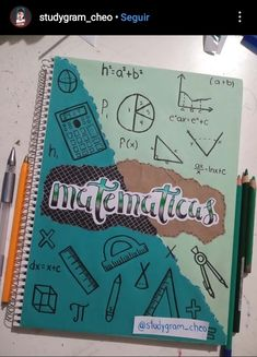 Bullet Journal Notebook, Bullet Journal School, Bullet Journal Ideas Pages, Bullet Journal Inspiration, School Organization Notes, School Notes, Lettering Tutorial, Hand Lettering, Buch Design