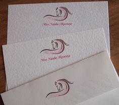 Horse Stationery - Personal Letterheads and Correspondence Cards from Paper Pleasures.