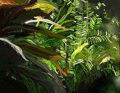 Click image for larger version. Name: Khalid_ipda, Views: 245 Size: KB ID: 40621 Watercolor Leaves, Khalid, Ferns, Sketchbooks, Amazing Art, Larger, Plant Leaves, Palm, Florida