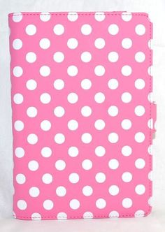 Light Pink Polka Dot Design Vinyl Leather Padfolio Cover Case Book Style for Barnes & Noble Barnes and Noble Nook Color / Nook Tablet + Pen Holder + Pocket Sleeve by Design & Motion, http://www.amazon.com/dp/B009KCNCWM/ref=cm_sw_r_pi_dp_6G1Yqb08X7PDJ