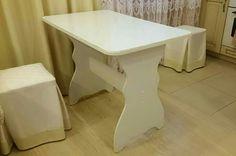 Переделка ламинированного столика, переделка мебели, перекраска мебели, своими руками
