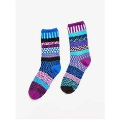 Solmate Socks Raspberry Crew Sock