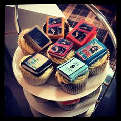 Our Amazing Cupcakes at our Website Launch Party in London!