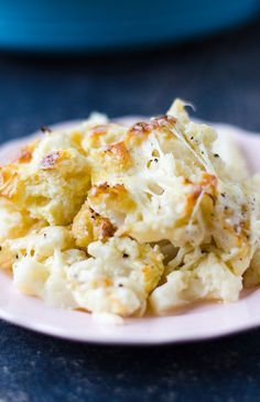 Cheesy Cauliflower Casserole will become the favorite of veggie haters for sure. Kids and husbands will definitely ask for more! | https://giverecipe.com | #cauliflower #casserole