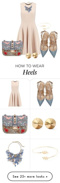 """""""Untitled #2273"""" by janicemckay on Polyvore featuring Michael Kors, Accessorize, Valentino, Chico's, Eddie Borgo, women's clothing, women's fashion, women, female and woman"""