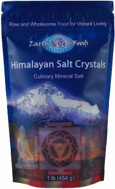Earth Circle Foods Himalayan Salt Crystals, Coarse, 1-Pound - http://spicegrinder.biz/earth-circle-foods-himalayan-salt-crystals-coarse-1-pound/
