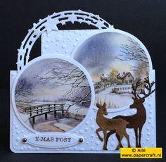 PaperCraft's News: Bijzondere kaartvormen voor kerst