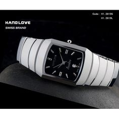 Handlove Squared Dial Women's Swiss Watch Brands