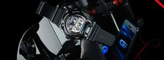 G-Shock Introduces Bluetooth 4.0 Watch- http://getmybuzzup.com/wp-content/uploads/2013/10/203600-thumb-600x222.jpg- http://getmybuzzup.com/g-shock-introduces-bluetooth-4-0-watch/-  By Eleven8 Casio and G-Shock recently announced the release of the GB-6900B/GB-X6900B shock-resistant watches. These new watches support Bluetooth v4.0 with low energy wireless technology enabling pairing with a smartphone to control a smartphone music player from the watch, or adjust watch...
