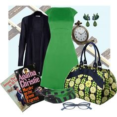 Travel by train, created by box543 on Polyvore