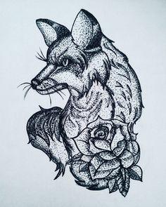 Fresh WTFDotworkTattoo Find Fresh from the Web #art #dotwork #dotworktattoo #dotworktattoodesign #blackwork #blxckink #tattoo #tattoodesign #drawning #fox #foxtattoo #rose #roses #czechboy #blackandwhite First attempt of dotwork the_miloush WTFDotWorkTattoo