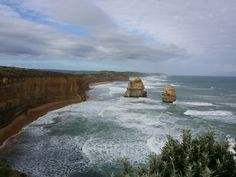 2 of 12 Apostles @ Melbourne Ocean Drive. Witness the natural beauty of Australia in all its magnificens