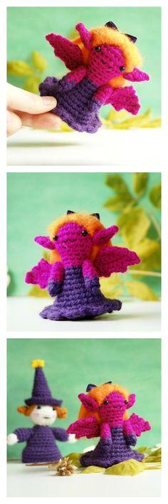 Free crochet pattern for amigurumi vampire by tinyAlchemy. Free PDF download on Craftsy. #tinyAlchemy