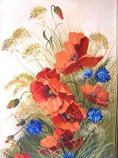 Gallery.ru / Фото #88 - Поглядите, там и тут, маки красные цветут. - Anneta2012