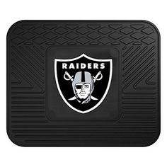 FANMATS 9985 NFL Oakland Raiders Vinyl Utility Mat