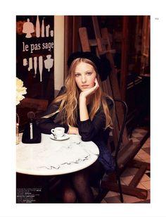 cafe - blonde - Jalouse Oct '12