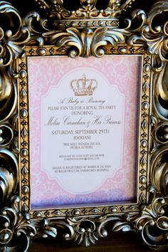 Hey, I found this really awesome Etsy listing at http://www.etsy.com/listing/109994454/royal-tea-party-invitation-girls
